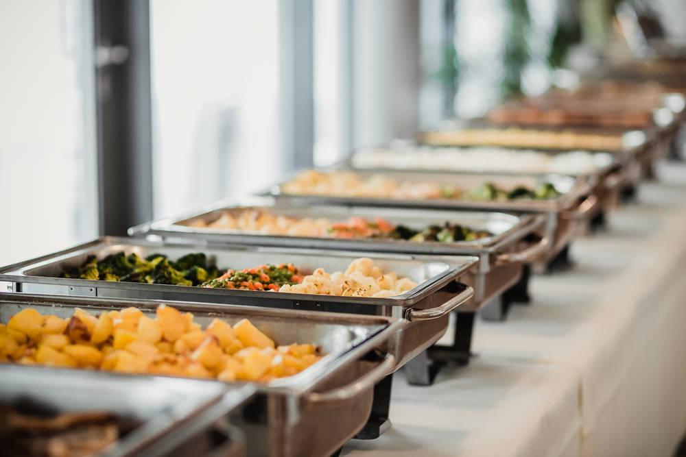 En un evento empresarial no puede faltar un buen catering