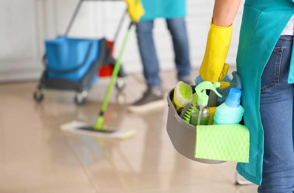 El servicio profesional de las empresas de limpieza