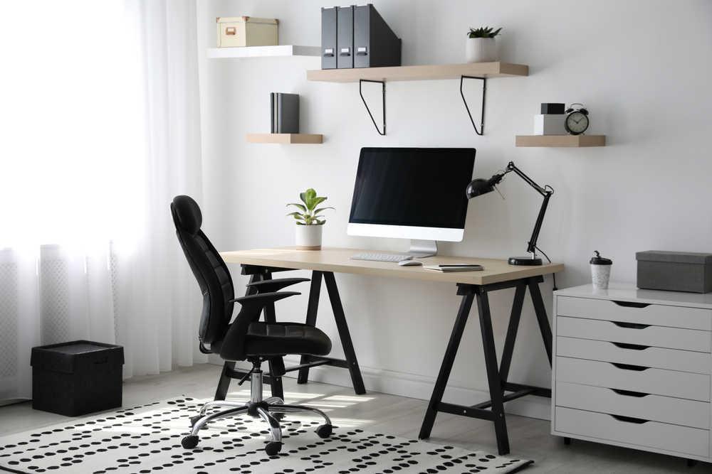 ¿De qué color pintar tu oficina en casa?